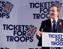 Tickets For Troops Launch