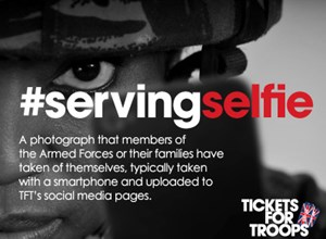Welcome to our #servingselfie competition!