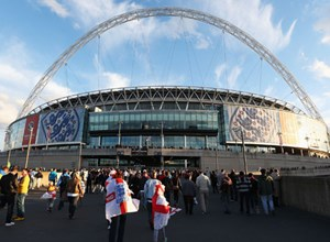 500 Troops off to Wembley for England vs. Ireland showdown