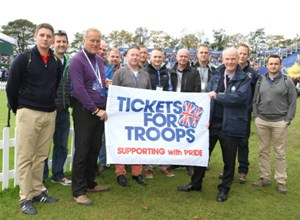 Armed Forces Revel in Gleneagles Glory
