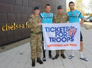 BARCLAYS PREMIER LEAGUE BACKS ARMED FORCES TO MARK CENTENARY OF WW1