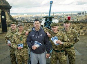 SCOTTISH RUGBY DONATES 1,000 TICKETS TO UK TROOPS