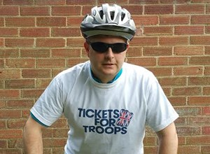 Sgt Cian Gilbey to cycle from London to Southend for TFT