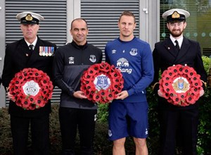 Everton FC support Armed Forces