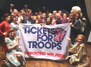 NEW MUSICAL 'MRS HENDERSON PRESENTS' ENTERTAINS THE TROOPS