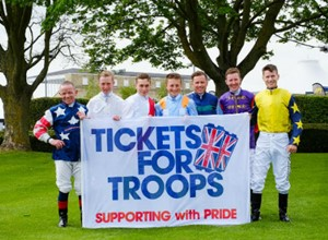 All 60 British racecourses pledge support to Tickets For Troops for 2018