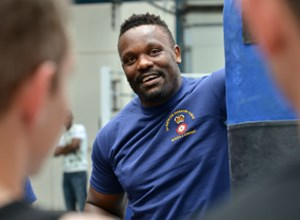 Tickets for Troops Packs a Punch as Chisora Trains with Grenadier Guards