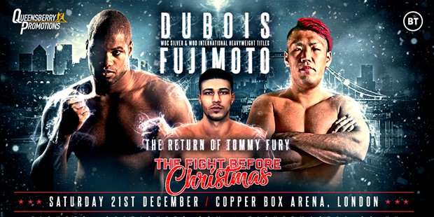 THE FIGHT BEFORE CHRISTMAS - DUBOIS & FURY